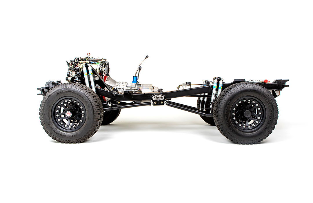 Kincer Chassis Builder Series Early Bronco Chassis