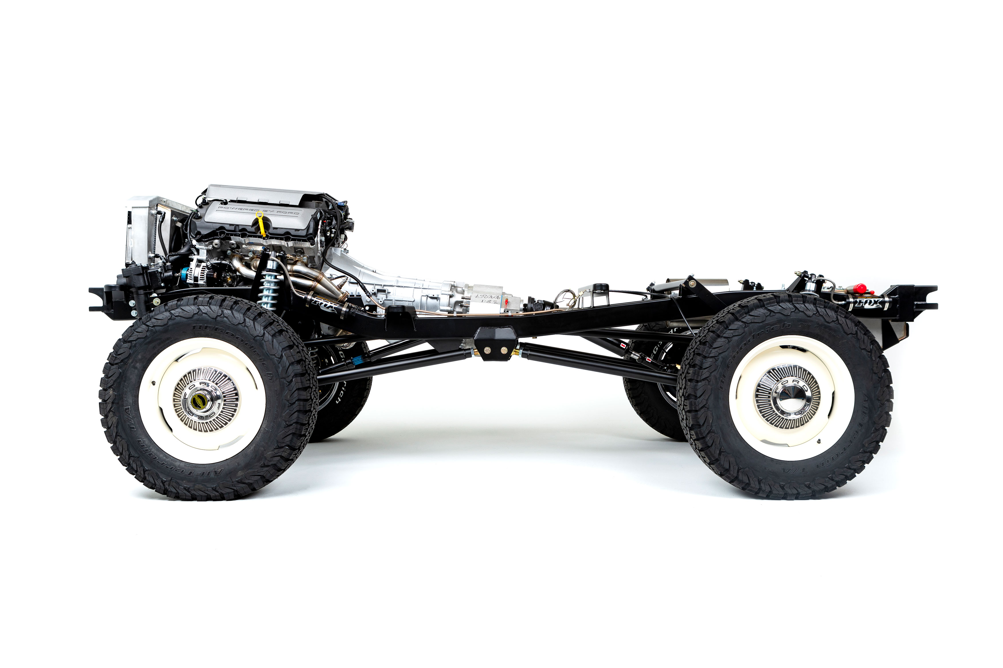 Early Bronco Rolling Chassis - Adventure Series by Kincer Chassis